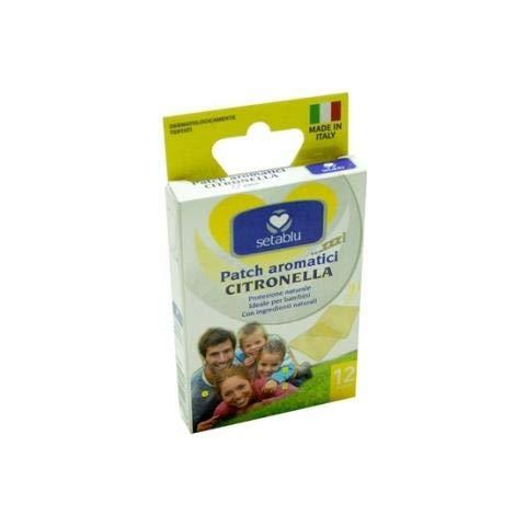 cerotti aromatici alla citronella contro le zanzare anche per bambini patch setablu made in italy stop alle zanzare