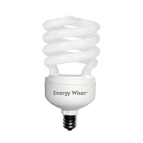 Bulbrite 509011 CF13WW/LM/E12 13W Low Mercury Compact Fluorescent T2 Coil with Candelabra Base, 60W Equivalent, Warm White