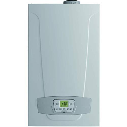 Caldera de condensación de gas Platinum Compact 24/24 F Eco GN, 20 kW para calefacción y 24 kW en ACS, caudal de 13,8 litros por minuto, 30 x 40 x 70 centímetros (Referencia: 7213024)