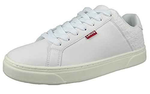 LEVIS FOOTWEAR AND ACCESSORIES CAPLES, scarpe da uomo, bianco, 45