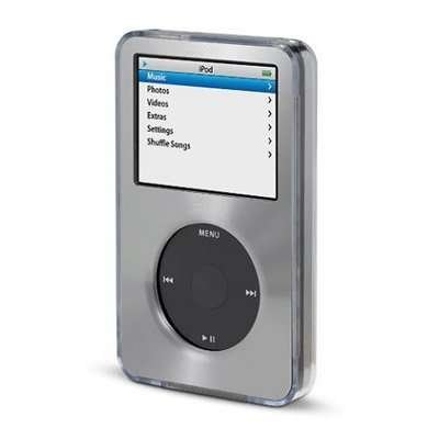 Gray for Apple iPod Classic Hard Case with Aluminum Plating 80gb 120gb 160gb