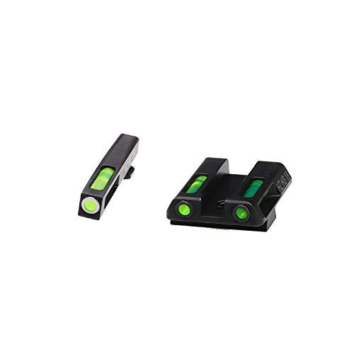 HIVIZ GLN321 Sight Systems, Litewave H3 Tritium/Litepipe, Glock 42 and...