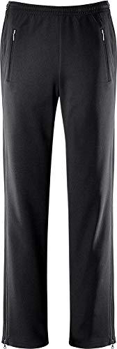 Michaelax-Fashion-Trade Schneider - Damen Sport und Freizeit Hose mit seitlichem Reißverschluss in Schwarz, GÖTEBORGW (6558), Größe:38, Farbe:Schwarz (999)