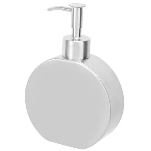 Cabilock Leere Lotionflasche mit Pumpe Edelstahl Shampoo-Spender Flaschen Flüssigkeitsbehälter für Cremes Dusche Körperwäsche schäumende Handseife ätherische Öle