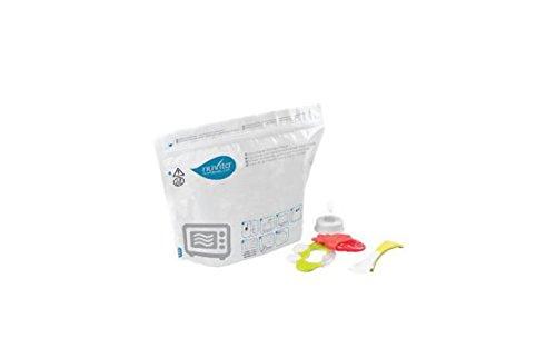 Nuvita NU-ALST0008-1087 Buste per Sterilizzazione a Vapore nel Microonde, Multicolore