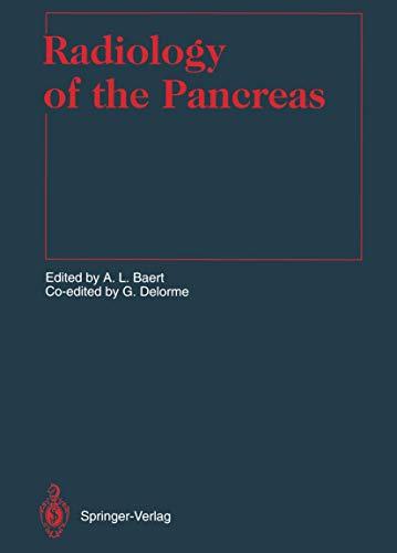 Radiology of the Pancreas (Medical Radiology)