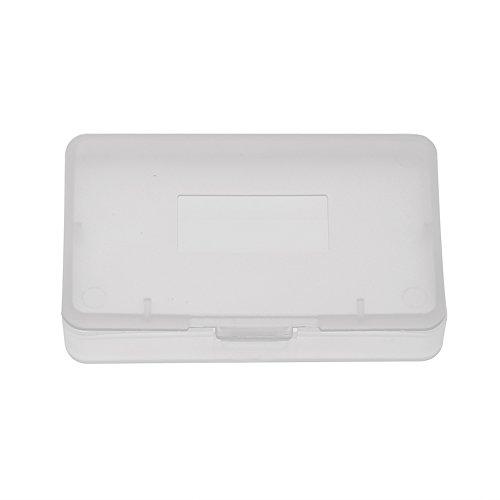 Scatola da 10 Pezzi Scatola da Gioco Trasparente Anti-Polvere Custodia per Carte da Gioco Compatibile con Nintendo Game Boy Advance GBA