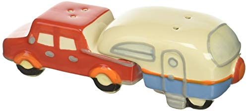 Beachcombers SS-BCS-03177 Truck/Camper Salt And Pepper Shaker Set, 6.25 x 2