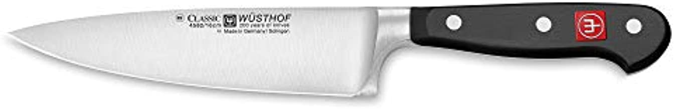 Wüsthof CLASSIC Cook's Knife, 6-Inch, Black