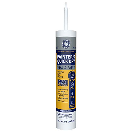 GE Sealants & Adhesives-2709186 Paint Projects Painter's Quick Dry - White , 10.1 Ounce