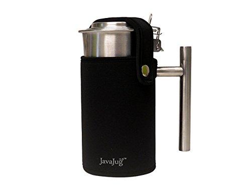 JavaJug2 with JavaJacket for the AeroPress Coffee and Espresso Maker (Black)