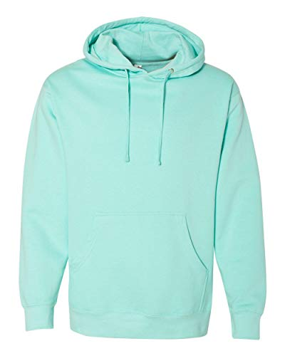 Independent Trading Co.. - Midweight Hooded Pullover Sweatshirt - SS4500 - M - Mint