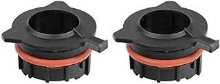 CHUN-Accessory - 2Pcs Car H7 LED Headlight Bulb Base Adapter Holder LED Headlamp Retainer Socket Holder For BMW E39 1/5 Series E60 520 530