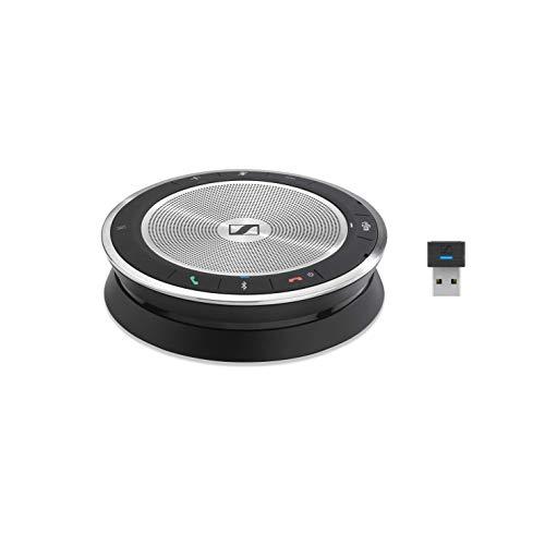 Sennheiser Enterprise Solutions Expand SP 30T (508392) Portable Sound-Enhanced Speakerphone | PC, Mobile Phone & Softphone Connection | Microsoft Teams Certified, Black