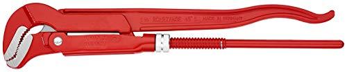 KNIPEX 83 30 015 Rohrzange S-Maul rot pulverbeschichtet 420 mm