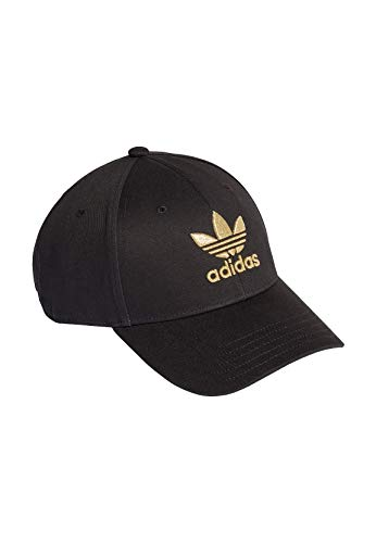 adidas AC BB Cap, Herren, Black/Gold Met, OSFM