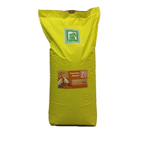 BASU Kanarien Spezial 25 kg - Alleinfutter für Kanarienvögel ohne Rübsen - Kanarienvogelfutter - Kanarienfutter