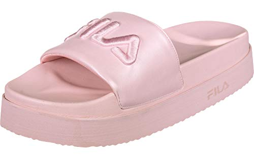 FILA Badelatschen Morro Bay Zeppa F WMN 1010638 71D Chalk Pink Rosa, Schuhgröße:40