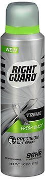 Right Guard Xtreme Precision Dry Spray Antiperspirant Fresh Blast - 4 oz, Pack of 3