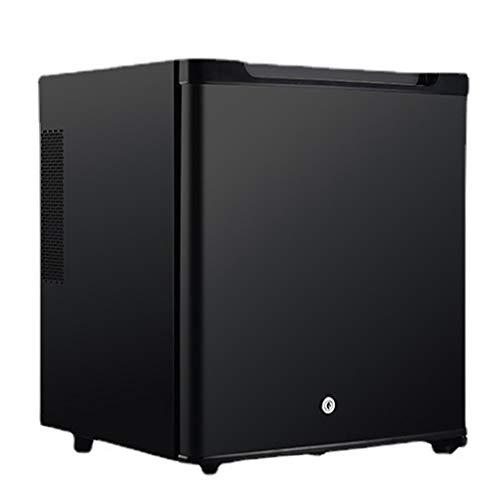 Mini Frigoríficos Refrigeradores De Bebidas Silenciosos De 30 L para Hoteles Y Restaurantes Que Conservan El Frescor Y Ahorran Energía, Color Negro, 42 × 38 × 48 Cm