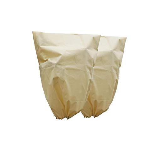 NaisiCore Piante Copertine, 2pcs Inverno della Copertura delle Piante Tessuto Antigelo, Spessore delle Piante Riscaldamento Giubbotti da Gelo Esterna del Giardino delle Piante (180x120cm)