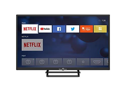 Televisor Smart TV 32 pulgadas HD Ready LED DVB-T2/DVB-S2 Wifi