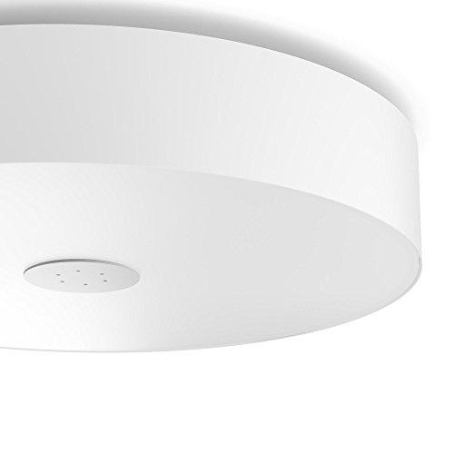 Philips Hue LED Deckenleuchte Fair inkl. Dimmschalter, alle Weißschattierungen, steuerbar auch via App, weiß, 4034031P7 - 3