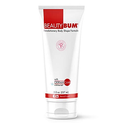 BeautyFit BeautyBum Anti Cellulite Stretch Marks Remover Hot Cream, Belly Fat Burner Bum Cream for Women, Original Scent, 8 Oz tube