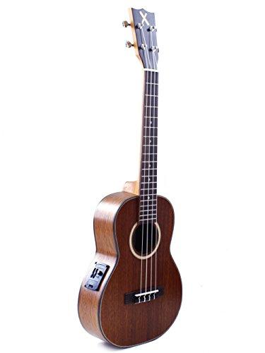 Mahimahi X Series - Ukelele tenor amplificado de caoba maciza