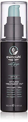 Awapuhi Wild Ginger Styling Treatment Oil, 3.4 Fl Oz