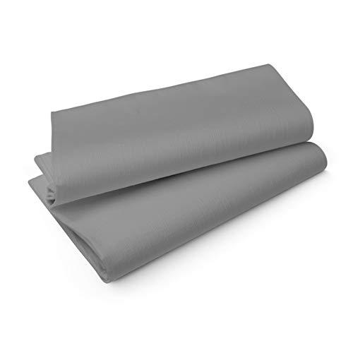 Duni Evolin Mitteldecken Granit Grey 84x84 cm 14 Stück, Duni Mitteldecken Granit Grey