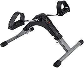 Marshal Fitness Pedal Exerciser Bike Best Arm Leg Exercise Peddler Machine Mini Spinning Bicycle Led Screen Display Sport ...