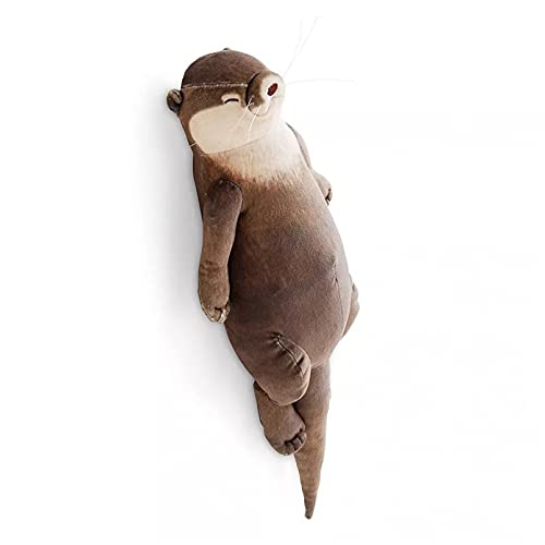 Sanery 40 cm de linda nutria rellena, de algodón, para la muñeca, regalo infantil
