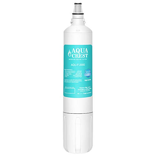 AQUA CREST F-2000 Under Sink Water Filter, Compatible with Insinkerator F-2000&F-2000s, F-1000&F-1000s and AquaPure AP Easy C-Complete