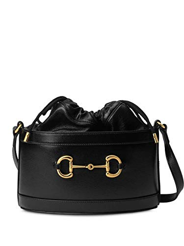 Luxury Fashion   Gucci Dames 6021181DBLG1000 Zwart Leer Schoudertassen   Lente-zomer 20