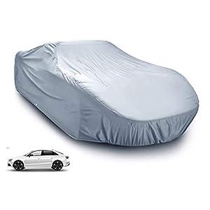 Funda protectora para coche – Cubierta plateada impermeable y protección contra granizo – para todos los tipos de automóviles / coche