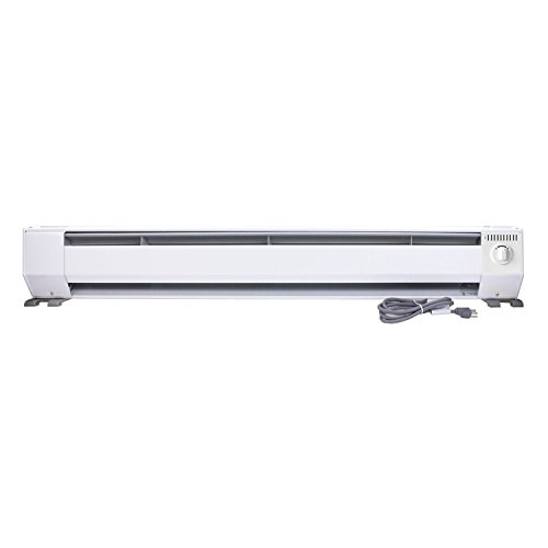 KING KPH1210 3-Foot Portable Baseboard Heater,...