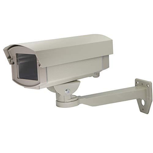 Tuggui Kameragehäuse Überwachungskamera Gehäuse mit Halterung Aluminium