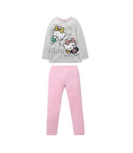 Hello Kitty Pijama Gris