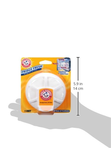 Arm & Hammer Fridge Fresh Refrigerator Air Filter (Pack of 4)