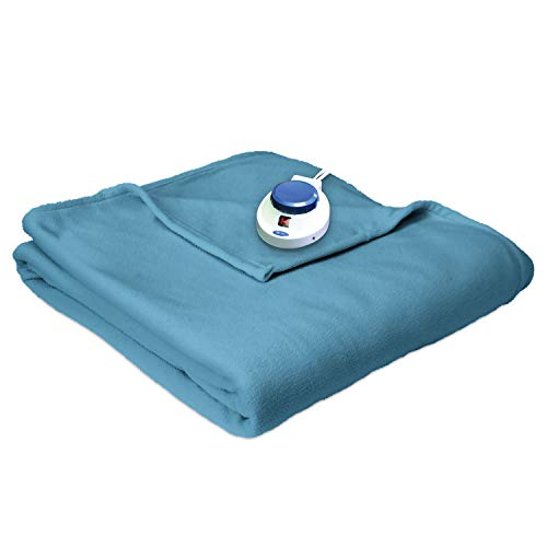 Safe and Warm Micro-Fleece Low-Voltage Heated Electric Blanket