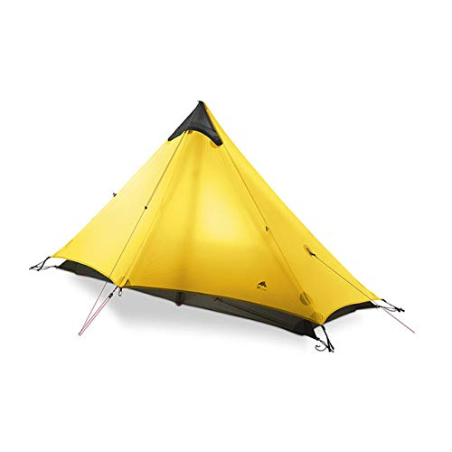 LIYUJIA Arashiyama 1 tent outdoor 1 person ultralight camping tent 3 season professional 15D poleless tent