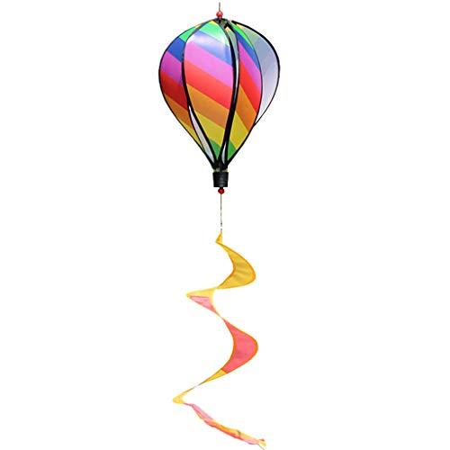 ZJL220 Hot Air Balloon Toy Windmill Spinner Garden Lawn Yard Ornament Outdoor Party Favor Supplies