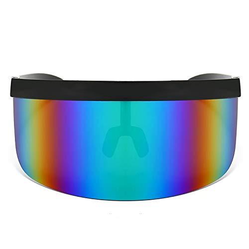 freneci Gafas de Sol de Protección UV de Verano de 5 Piezas de Gran Tamaño a Prueba de Polvo