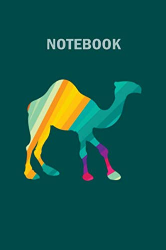 Notebook: dromedar, 100 pages - 6 x 9 inches