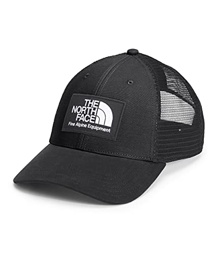 The North Face Men's Mudder Trucker Hat w/ Logo Patch TNF Black/Berkeley, California 1968 One Size