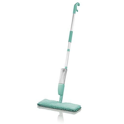 CLEANmaxx Spray-Mopp 2in1mit Wendefunktion, türkis