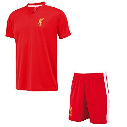 Liverpool Minikit Trikot + Shorts LFC - Offizielle Sammlung - Junge Kindergröße 14 Jahre