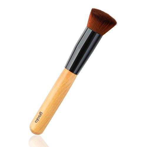 Gisala 1 Pcs Professional Wooden Handle Make up Brush