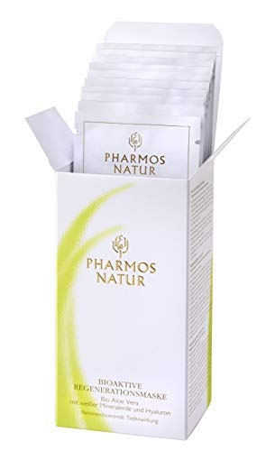 Pharmos Natur - Beauty - Basic Care - Gesichtspflege - Regenerating Mask - 10 x 5 ml